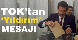 Erdoğan Tok'tan 'Yıldırım' Mesajı