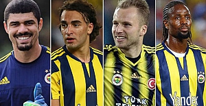 Fenerbahçe, 4 isimle ilişiğini kesti