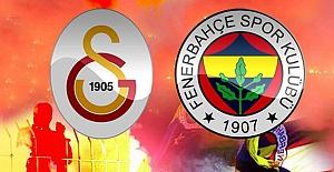 Galatasaray-Fenerbahçe maçının ilk 11'leri belli oldu