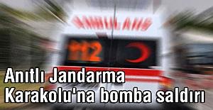 Karakolu'na bomba yüklü araçla saldırı