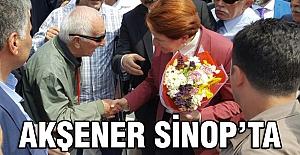 Meral Akşener Sinop'ta...