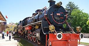 Nostaljik tren parkı açıldı