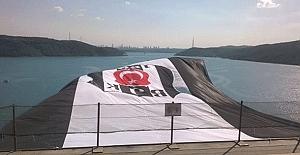 Şampiyon Beşiktaş'ın bayrağı Yavuz Sultan Selim'de dalgalanıyor