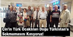 Türk Ocaklılar Doğu Türkistan'a Sokulmadı: KINIYORUZ!