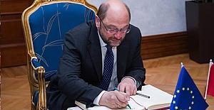 AB Parlamento Başkanı'ndan Erdoğan'a mektup