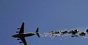 ABD'den Suriyeli muhaliflere havadan silah yardımı