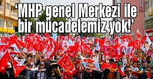 Akşener: MHP genel Merkezi ile bir mücadelemiz yok!