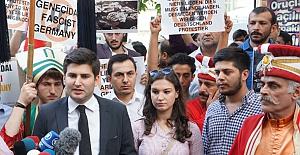 Almanya Başkonsolosluğu önünde sözde 'soykırım' protestosu