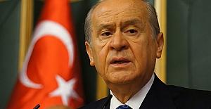 Bahçeli'den Başbakan Yıldırım'a taziye telefonu