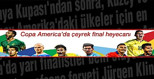 Copa America'da çeyrek final heyecanı