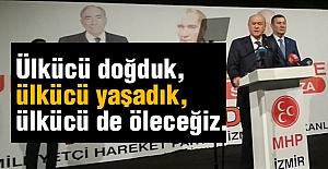 Devlet Bahçeli İzmir'de Partililerle Buluştu