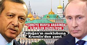 Erdoğan'ın mektubuna Kremlin'den yanıt