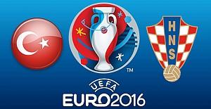 EURO2016 Fransa'ya doğru ilk rakibimiz Hırvatistan