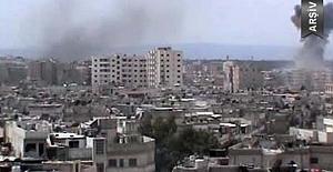 Humus'a yönelik hava saldırısında 16 sivil öldü
