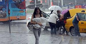 İstanbullular yağmura hazırlıksız yakalandılar