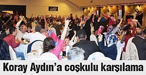 Koray Aydın'a Erzurum'da Coşkulu Karşılama