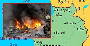 Lübnan'da intihar saldırısı: 5 ölü, 15 yaralı