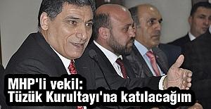 MHP'li O Vekil; Tüzük Kurultay'ına Katılacağını Açıkladı