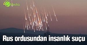 Rus ordusundan Halep'te insanlık suçu