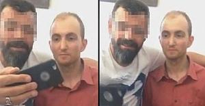 Seri katille selfie çeken polislerler açığa alındı