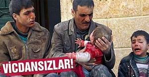 Suriye'de Çocuk Katliamı!