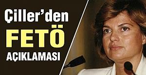 Eski Başbakan Çiller'den Fetö Açıklaması