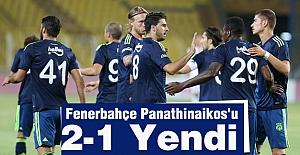 Fenerbahçe Panathinaikos'u 2-1 Yendi