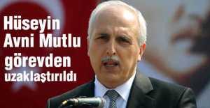 İstanbul Valisi Mutlu Görevden Uzaklaştırıldı