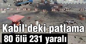 Kabil'de patlama; Bilanço Büyük!