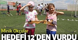 Minik Okçular hedefi 12'den Vurdu