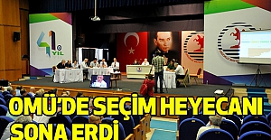 OMÜ'de Seçim Heyecanı Sona Erdi