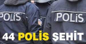 Özel Harekatçı 44 Polis Şehit