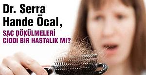 Saç dökülmelerini hafife almayın