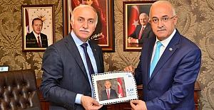 Samsun Valisi İbrahim Şahin'e Özel Pul