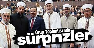 AK Parti Grup Toplantısı'nda sürprizler