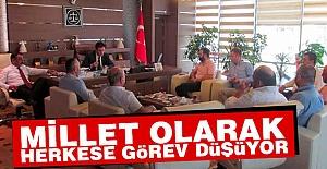 ASKON'dan Başsavcı Ahmet Yavuz'a Ziyaret