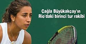 Çağla'nın Rio'daki birinci tur rakibi belli oldu
