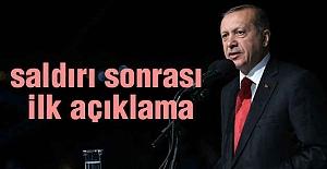 Cumhurbaşkanı Erdoğan'ın Saldırı Açıklaması