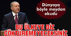Erdoğan: Milletimizi Bölemeyeceksiniz