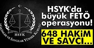 HSYK'da Çok Büyük Operasyon