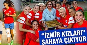 İzmir Kızları Sahada