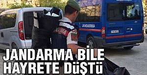 Jandarma Bile Hayrete Düştü