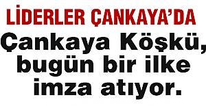 Kılıçdaroğlu ve Bahçeli Çankaya Köşkü'nde