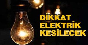 Samsun Elektrik Kesintisi