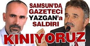 Samsun'da Gazeteciye Saldırı