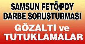 Samsun'daki Gözaltı ve Tutuklamalar