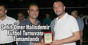 Şehit Ömer Halisdemir Futbol Turnuvası Tamamlandı