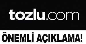 Tozlu'dan Önemli Açıklama