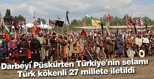 Türkiye'den Turan Halklarına Selam