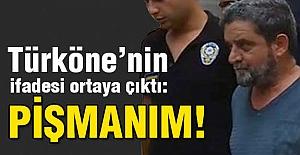Türköne'nin ifadesi ortaya çıktı: Pişmanım!